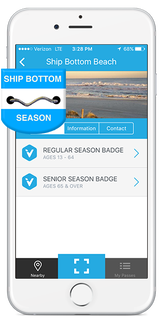 Ship Bottom Beach Badges on the Viply app  for your iPhone or Android device